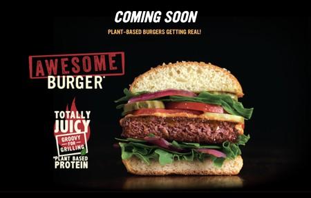Nestlé apuesta en grande por la carne que no es carne: Awesome Burger, la nueva hamburguesa vegetal que, afirman, es más saludable