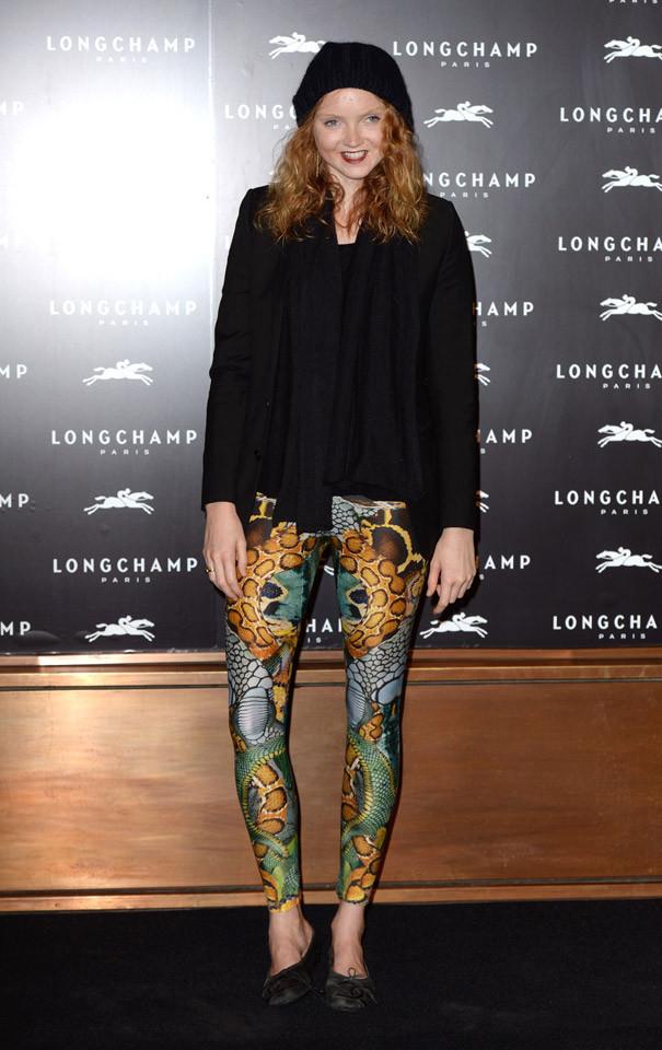 Lily Cole Londres Semana Moda