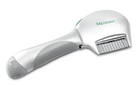 Adiós a las liendres con el peine eléctrico anti-piojos Medisana LCS: ahora sólo 15,90 euros en Amazon
