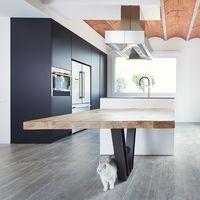 Casas reales: una vivienda unifamiliar para dos que apuesta por los espacios diáfanos