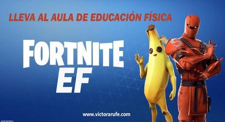 Un profesor de educación física lleva Fortnite a las clases para motivar a los alumnos