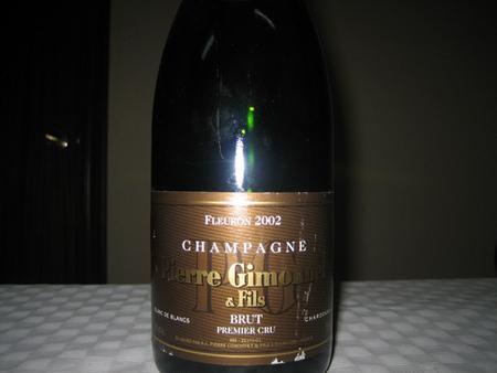 Champagne Pierre Gimonnet Fleuron 2002 Brut