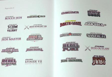 20 logotipos de videojuegos de 'Star Wars' cancelados