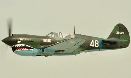 Avión P40Warhawk