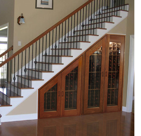 Una bodega bajo la escalera