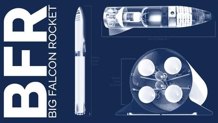 Es oficial: El BFR, el colosal cohete interplanetario de SpaceX, será construido en Los Ángeles y sus pruebas apuntan a 2019
