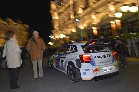 Marcus Grönholm probó el Volkswagen Polo R WRC
