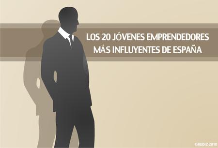 Los 20 jóvenes emprendedores más influyentes de España
