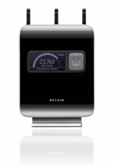 Belkin N1 Vision, router inalámbrico