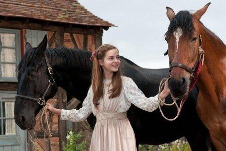 Joey no es el único caballo con importancia de la película