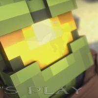 Minecraft también se atreve con el tráiler del E3 de Halo 5: Guardians