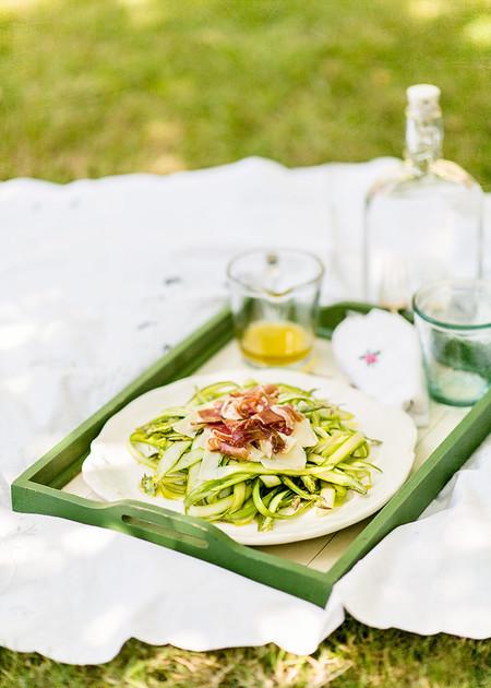 Receta Ensalada Esparragos Verdes 0