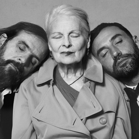 Portrait Of Riccardo Tisci Vivienne Westwood And Andreas Kronthaler C Courtesy Of Burberry Brett Lloyd 001