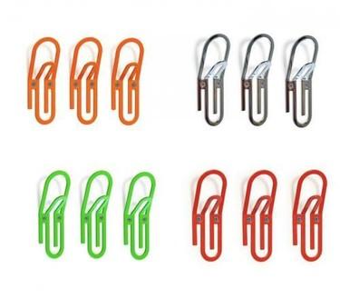 Colgadores con forma de clip