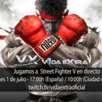 Jugamos en Directo al Street Fighter V de PS4 a partir de las 17:00h (las 10:00h en Ciudad de México)