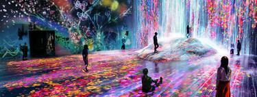 Llega Borderless Art el primer museo de arte digital en Tokio