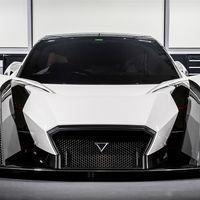 Dendrobium es un superdeportivo eléctrico con tecnología de la Formula E: cuatro motores y 1.000CV
