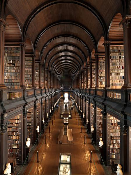 Trinity College Library Dublin Ireland 767x1024