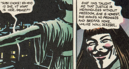 V de vendetta comic 2