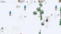 Dudeski: descendiendo a toda velocidad y esquivando obstáculos para huir de la avalancha