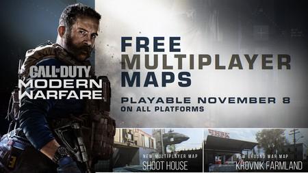 Call of Duty: Modern Warfare recibe hoy de forma gratuita dos mapas y un nuevo modo para el multi. El pase de batalla llega en diciembre