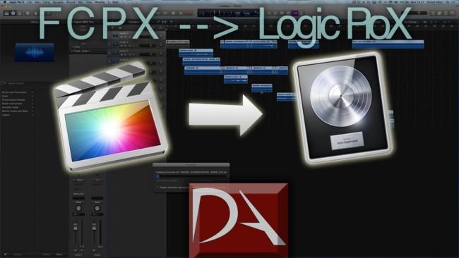 Logic Pro X y Final Cut Pro X, una pequeña muestra de la integración entre ambas aplicaciones