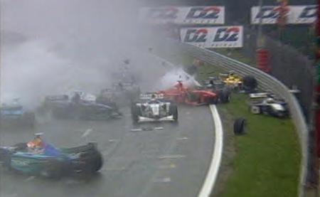 Accidente Spa 1998 salida
