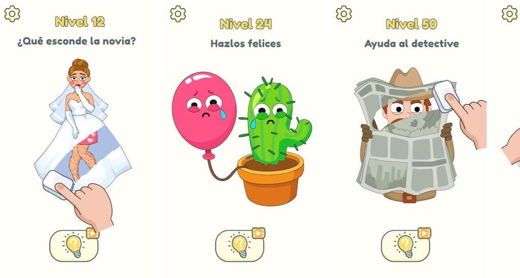 DOP 2: Delete One Part, un fácil videojuego de puzzles que arrasa en Google™ Play