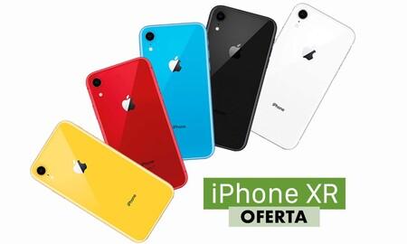 Con el cupón OCT85 de AliExpress Plaza el iPhone XR es un auténtico chollo: por 555, 585 y 645 euros tienes tanto el de 64 GB como el de 128 GB