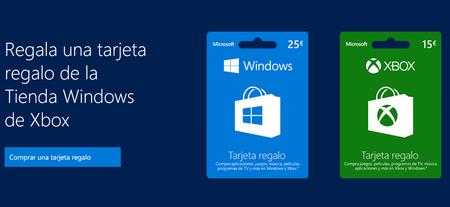 Tarjetas De Regalo De Microsoft