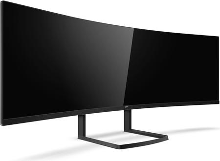 Philips apuesta por los monitores de grandes diagonales y alcanza las 49 pulgadas con el Philips 492P8