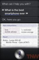 Siri cree que el Lumia 900 es el mejor smartphone
