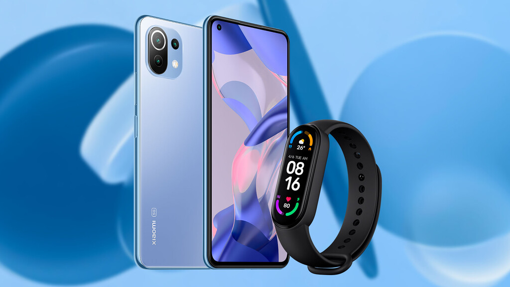Xiaomi 11 Lite 5G NE, now available in Spain: where to buy it cheaper for a limited time with a Mi Smartband 6 as a gift