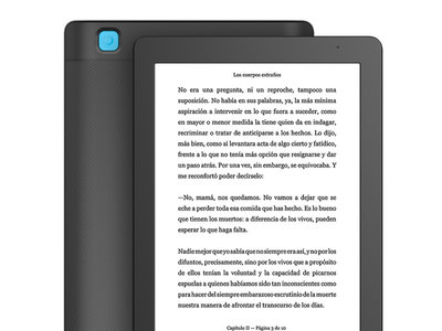 E-Reader Kobo Aura 2 ahora por 99 euros y envío gratis en Amazon
