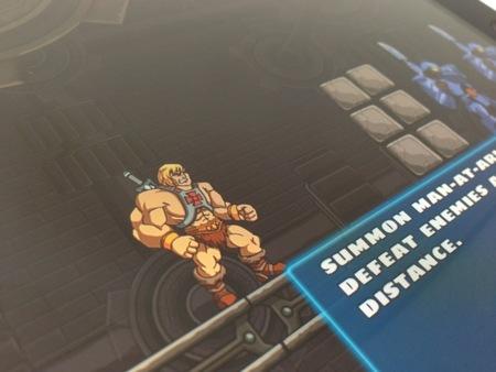 Análisis iPad mini juego He-man