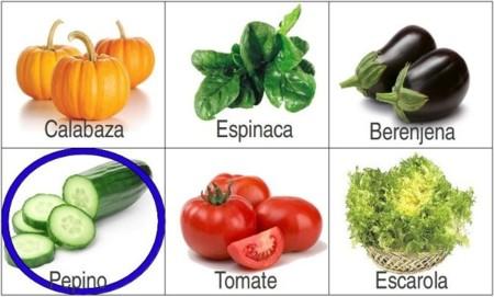 Solución a la adivinanza: la hortaliza con menos calorías es el pepino