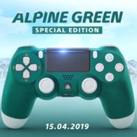 Así será el DualShock 4 Alpine Green, el nuevo mando para PS4 que llegará en abril