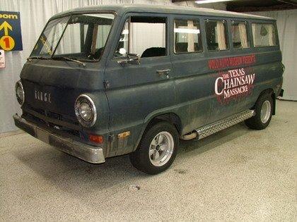 "La furgoneta de ""La matanza de Texas"" a la venta en eBay"