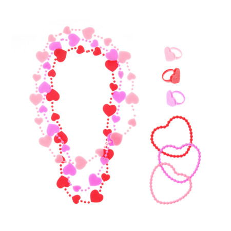 Valentine S Day Necklaces Bangle Bracelets And Rings Set 5 50euros