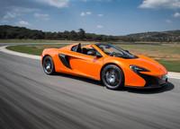McLaren 650S Spider en su hábitat natural