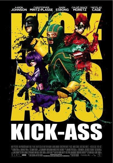 'Kick-Ass', cartel y tráiler en español (y muy pronto la crítica)