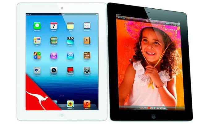 Qantas iPad