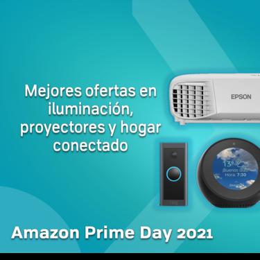 Amazon Prime Day 2021: mejores ofertas en iluminación, proyectores y hogar conectado