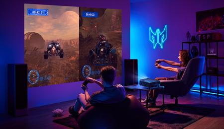 Acer estrena proyectores gaming: el Predator GD711 y Predator GM712 llegan con resolución 4K, 240 Hz y hasta 4.000 lúmenes