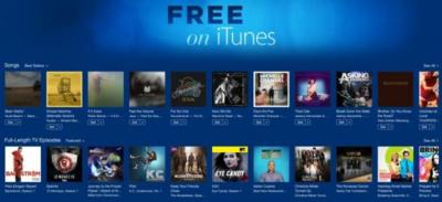 """Free on iTunes"", la nueva sección de Apple con series y canciones gratuitas"