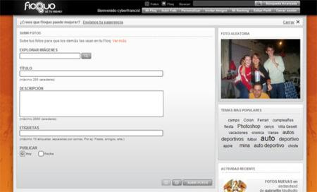 Floquo.com, nuevo servicio de fotoblog