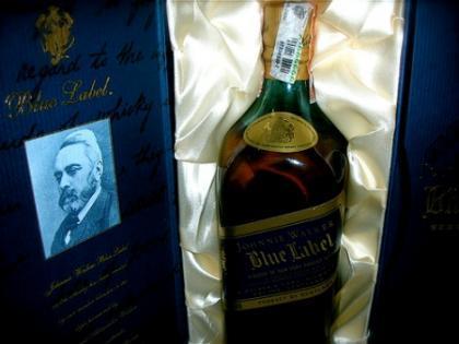 Johnnie Walker etiqueta azul personalizado