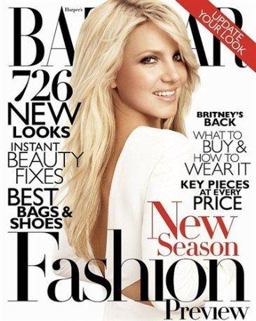 Britney Spears (bueno, eso dicen) para 'Harper's Bazaar'