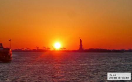 Estatua Libertad Nueva York Gastroguia