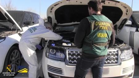 La Guardia Civil recupera 342 coches de los cerca de 70.000 que han sido robados en España desde 2016